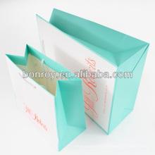 Impresión de bolsas de papel por encargo con el mejor precio