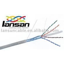 Cat6 FTP Pure copper/CCA cable wire UL List Pass Fluke Test