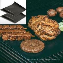 0.25mm Dicke wiederverwendbare schwarz keine Stick Holzkohle BBQ Backen Grill Matte