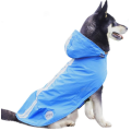 Capucha reflectante impermeable para perros