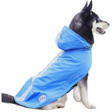 Capa de capa de chuva refletiva para cães