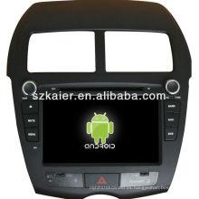 DVD de coche para el sistema Android Mitsubishi ASX