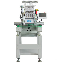 QS-1201Z Single Head Computerized Embroidery Machine Dahao Computer for T shirt logo label rope Embroidery Machine