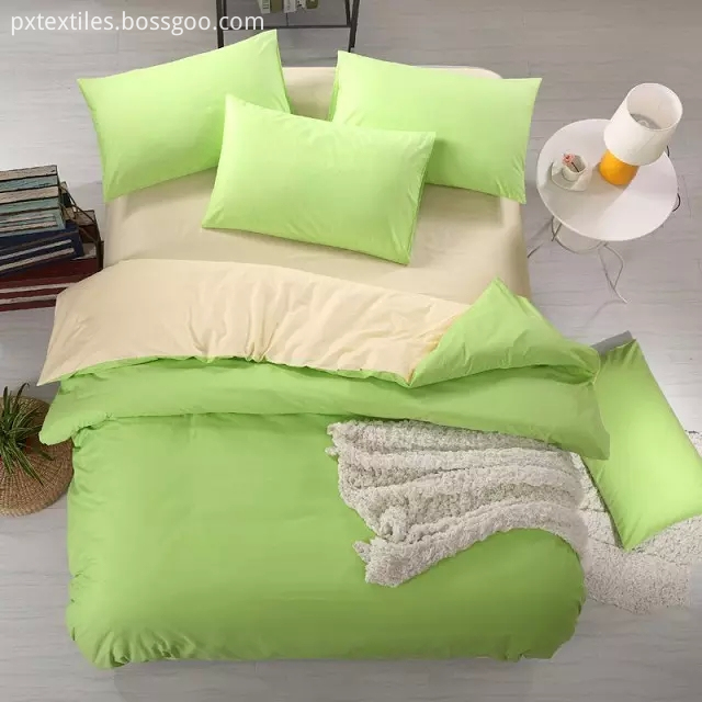 Solid Quilt Cover Set