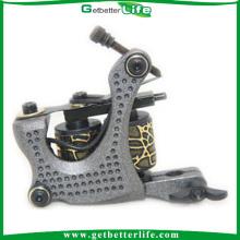Design exclusivo 10 bobinas de alumínio tatuagem máquina tons