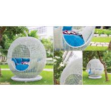 Colección Eagle - 2016 PE Rattan mimbre sintetico ratán Apple Sunbed muebles de jardín al aire libre