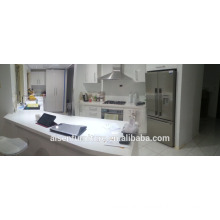 Real picture from Australia client white high glossy 2 pac lacquer modern kitchen cabinet