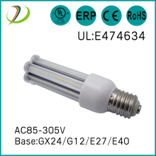 GX24/E27/E40/G12 base 24w led corn light