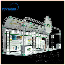 6 * 9 Custom portable Messestand Design, Aluminium Fachwerk Messestand