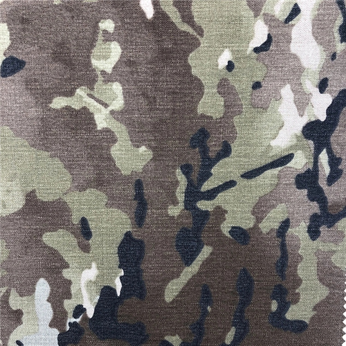 Nylon Military Camouflage Oxford Flammhemmender Stoff