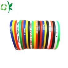 Promotional Custom Brand Fashion Sport Silicone Bracelet