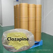 Clozapin-Pulver CAS 5786-21-0 antipsychotischer pharmazeutischer Bp-Standard