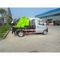 Arm-hook lift garbage truck circulation transportation