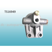 aluminum filter head assembly for die casting