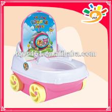 Самая последняя модель стула ребенка пластиковый стул с колесами