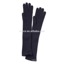 PK17ST040 China supplier wholesale price Women Cashmere Ribbed Glove