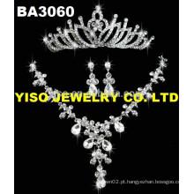Colar de moda com diamantes de casamento