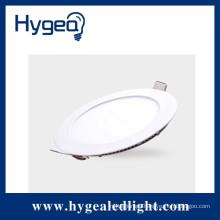 12W PF:0.9 RA:75 led small round panel light with super brightness