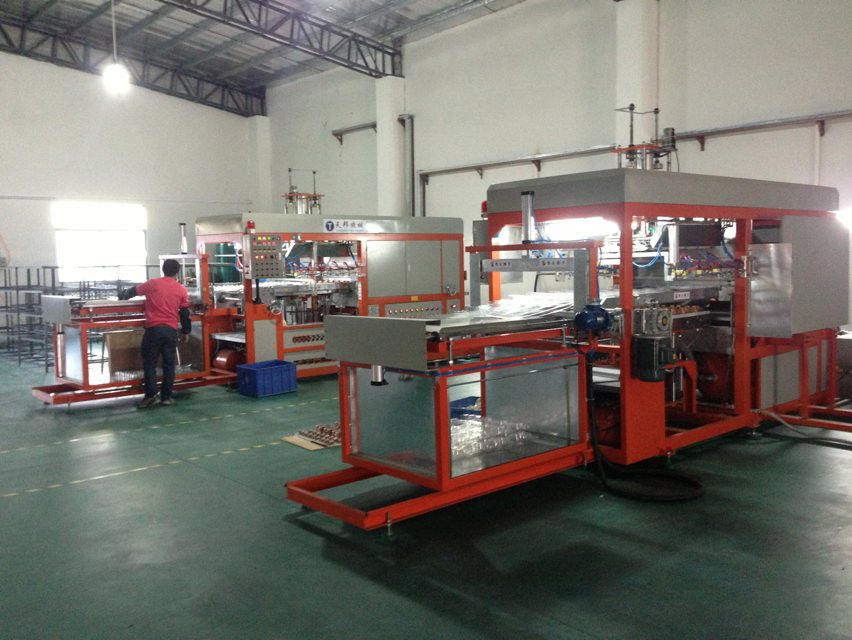 Automatic PVC Vacuum Blister Forming Machine