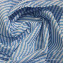Tela impresa 100% de la camisa del Dobby teñida hilo de algodón
