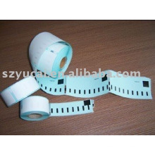 customized colorful thermal dymo label