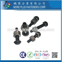 Made in Taiwan Carbon Steel Grade 10.9 High Strength Bolt