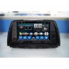 Reproductor de DVD del coche de la pantalla táctil de Kaier Android 7.1 / gps del coche para mazda 6 con la función de la vista posterior de SWC / RDS