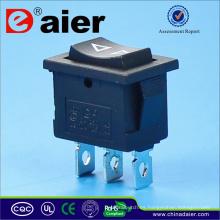 Interruptor basculante de 3 vías de doble restablecimiento