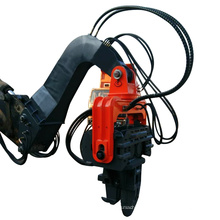 High quality small hydraulic vibratory drop hammer pile driver