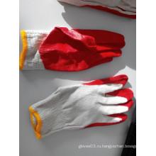 10T / C Экономичные латексные защитные перчатки