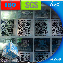 QR Code 3d Hologram Laser Labels