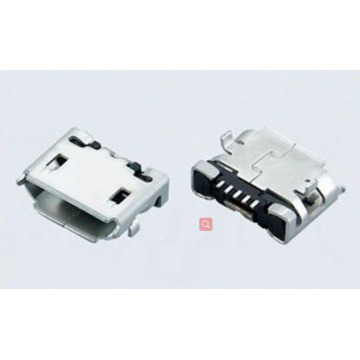 Prise Micro USB 5P TYPE SMT (Shell Dip)
