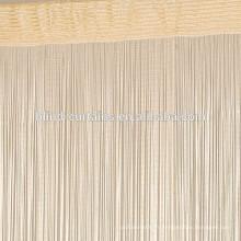Rideau en métal polyester coloré
