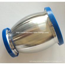 Réducteur en acier inoxydable de 50 mm à 38 mm, type Valve de retenue hygiénique pour équipement à lait