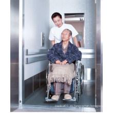 Elevador de cama de camilla de pasajeros de hospital de gran altura especialmente diseñado