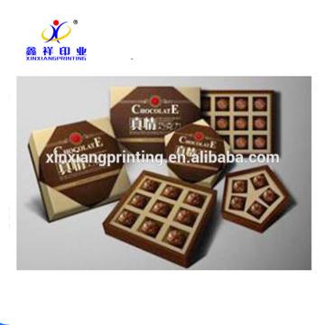 Boîtes d'emballage de chocolat de boîte de papier de sucrerie