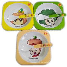 Melamine Promotional Gift Square Bowl Set (TZ5372)