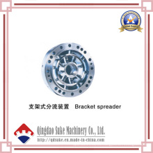 Esparcidor de soporte de extrusión de plástico con certificación CE