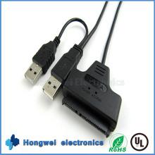 SATA22p auf USB3.0 & USB2.0 Easy Drive Kabel