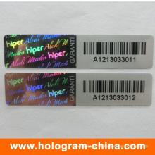 Qr Code Label/ Serial Number Label/Hologram Barcode Label