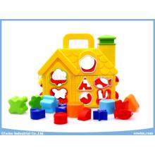 Puzzle Blocks Toys House Educational Toys