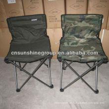 Silla camping plegable portátil con Copa titular y llevar bolso