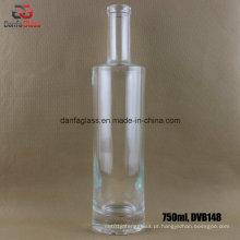 750ml Garrafas de vidro Super Flint para Whisky Moonshine