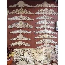 Muebles decorativos apliques y onlays de madera.