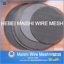 Iron Wire Wove Wire Mesh Discs