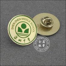 Пользовательские металлические значок, печать школы лацкан Pin (GZHY-LP-093)