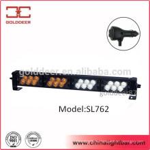 24W белой Amber палубы LED светильники светодиодные вспышки предупреждение света для автомобилей (SL762)