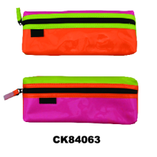 PVC pencil pouch with zipper