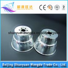 China Abastecimento de fábrica abajur quadros de metal lâmpada sombra lâmpada de alumínio habitação