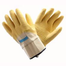 (LG-020) Gants de travail de sécurité protectrice au travail Latex Revêtue